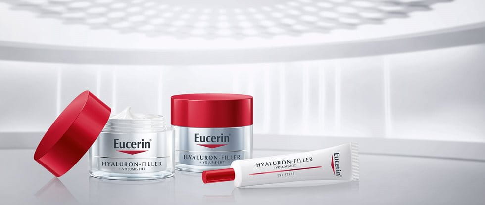 Eucerin scientist in the laboratory